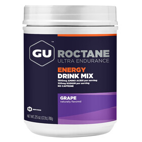 GU Energy Roctane Ultra Endurance Energy Drink Alimentazione sportiva Grape 780g
